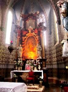 Храм св. Екатерины, Миловице