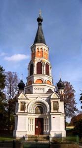 Франтишковы Лазни, Храм св. Ольги