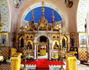 Марианские Лазни, Храм св. Владимира