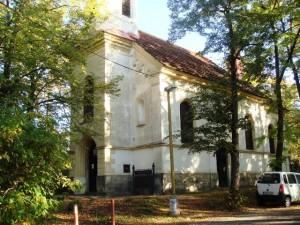 Пржибрам, Храм Воздвижения Креста Господня