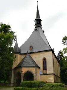Храм Воздвижения Креста Господня, Чешска Липа