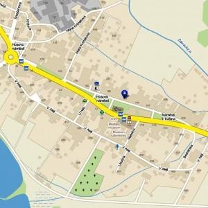 Монастырь св. Ростислава на карте
