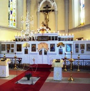 Храм Воздвижения Креста Господня, Теплице