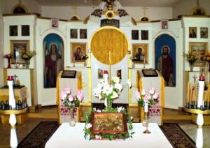 Храм всех Святых Чешских земель, Подборжаны