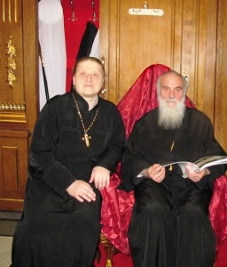 Со Святейшим Патриархом Иринеем (Белград)