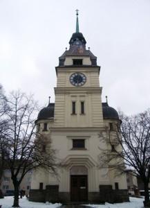 Зноймо. Храм св. Ростислава