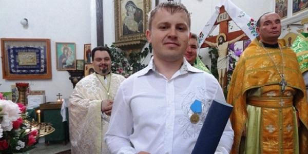Освящение нового иконостаса в Хомутовском православном приходе