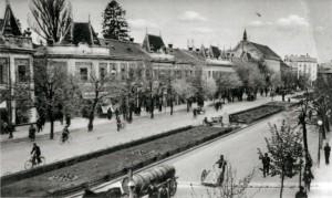 Мукачево, 20-е годы ХХ века.