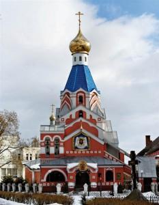храм в Ужгороде.