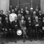 Преподаватели технических курсов в Софии, 1923 год. (YMCA + Mr. Smith.) Михаил Васнецов во втором ряду (стоит), второй справа.
