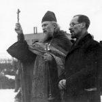 Млада Болеслав, 5 февраля 1945 года. С художником Андреем Рязановым.