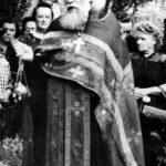 Конец июля 1961 года, Прага. Похороны Ольги Васильевны Васнецовой (умерла 27 июля 1961 года).